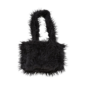FAKE  FUR BAG B