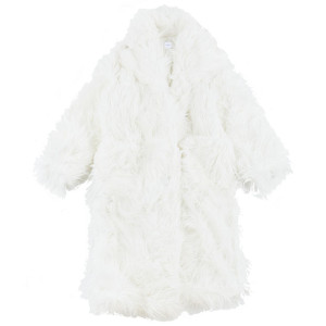 FAKE FUR COAT W