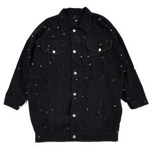 STUDDED DENIM JACKET B
