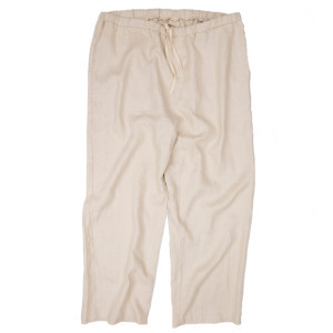 HEMP PANTS BEIGE
