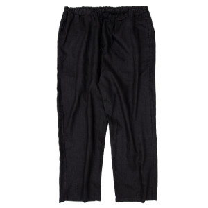 HEMP PANTS BLACK