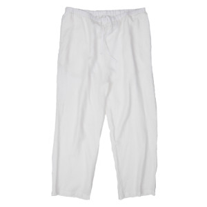 HEMP PANTS WHITE