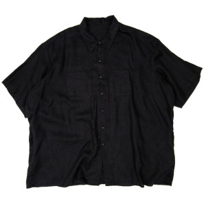 HEMP SHIRT BLACK