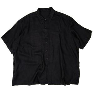 HEMP SHIRT BLACK