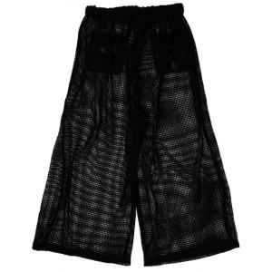 MESH PANTS BLACK