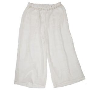 MESH PANTS WHITE