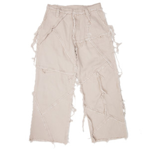 PATCHED PANTS BEIGE