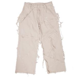 PATCHED PANTS BEIGE