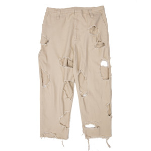 SUPER DAMAGED PANTS BEIGE