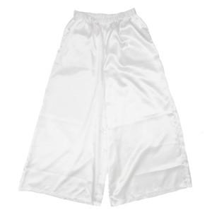 TSURU TSURU PANTS WHITE