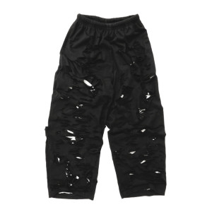 SUPER DAMAGED EASY PANTS-B