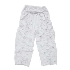 SUPER DAMAGED EASY PANTS-W
